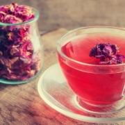 چای گل محمدی